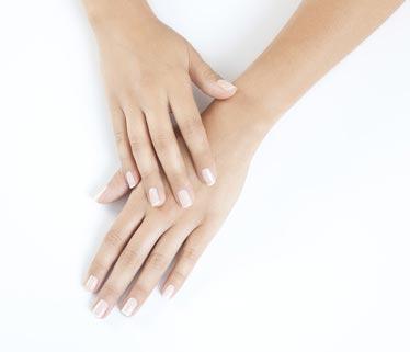 Schöne Frauenhände